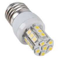 7W E27 LED Bulb 27LEDs SMD 5050 220V LED Spotlight Warm White