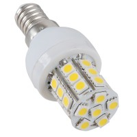 7W E14 LED Bulb 27LEDs SMD 5050 220V LED Spotlight Warm White