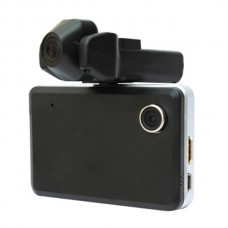 F3000K-Vehicle Data Recorder-HD Dual Camera Car DVR-2.8 Inch TFT Screen-Loop Recording