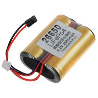 LiFe Battery Po4 26650PRO 3.2V 2500mAh 25C for RC Boat Airplane