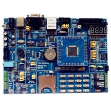 "C8051F020 Microcontroller Development Board UCOS Ethernet 2.4"" Touch TFT"