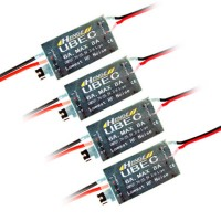HENGE 5v/6v 6A/8A 2-6S LIPO/ 6-16 Cell Ni-Mh Input Switch Mode UBEC BEC 4-Pack