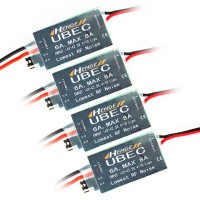 HENGE 5v/6v 6A 4s-10S/14-42.5V Input Switch Mode UBEC HV High Voltage 4-Pack