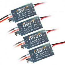 HENGE 5v/6v 6A 4s-10S/14-42.5V Input Switch Mode UBEC HV High Voltage 4-Pack
