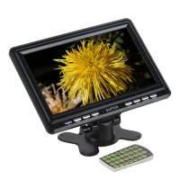9.8 inch Wide Mini TFT LCD Analog TV Color Car Monitor Support SD/MMC/AVI/MP3