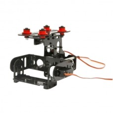 PROBE C-PTZ Carbon Fiber 2-Axis Pan/Tilt/Zoom Aerial Photo for PTZ Camera