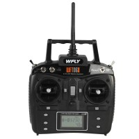 Wfly 2.4GHz 6 Channel DSSSRadio Transmitter Receiver w/ LCD Display TX WFT06II