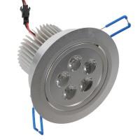 5W LED Ceiling Down Bulb Spot Light Recessed Lamp 85-260V 500lm-Warm White