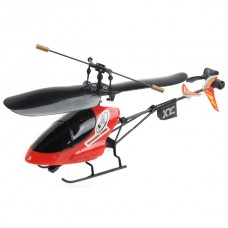 Mini RC Combat Force Super Helicopter with Remote Controller-Red