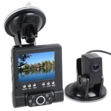 Separate Dual-Lens HD Car DVR Video Camera Blackbox Recorder Reversing Lens HDMI