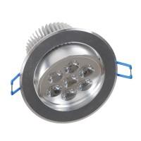 7W LED Ceiling Down Bulb Spot Light Adjustable Recessed Lamp 85-260V 700lm-Warm White