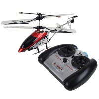 3.5 Channel Remote Control Helicopter with Remote Controller +2G TF Card-Red