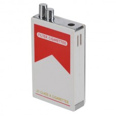Electric Shock Cigarette Lighter Adult Shocking Toy Prank Trick Joke Weird Stuff -White