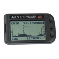 MKS AX700 40/41Mhz  Receiver Scanner Digital Receiver Scanner