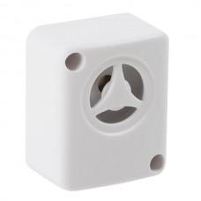 Piezo Alarm High Intensity Mini Siren Louder Med-Slow Warble Tone-White