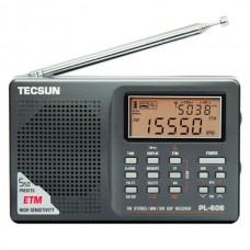 TECSUN PL606 FM/MW/LW/SW DSP Longwave Shortwave Radio Sliver PL-606