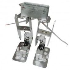 6DOF Biped Robotic Educational Robot Kit Servo Bracket Ball Bearing Silver