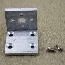 25mm Motor Fixed/Retention Bracket Aluminum Structure for Robot Intelligent Vehicle