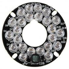 J6-5 40M 4W 12V Lamp 60 Degree for CCTV Camera