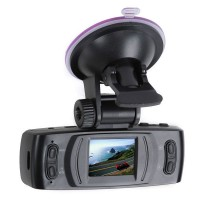 X6 Black Full HD 1080P Vehicle Blackbox DVR Car Camera Recorder with 6 IR LED Night Vision