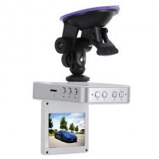 X2 Car Recorder Dashboard Digital Video Recorder Camera DVR with External Lens