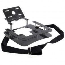 3K Twill Carbon Fiber Holder Remote Controller Holder Ground Station Framing