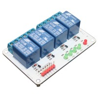 4CH 4 Channel 24V Relay Module for Arduino PIC ARM AVR MSP430