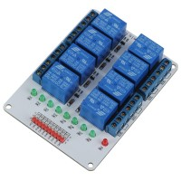 8CH 8 Channel 5V Relay Module for Arduino PIC ARM AVR MSP430