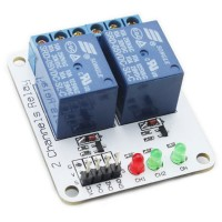 2CH 2 Channel 12V Relay Module for Arduino PIC ARM AVR MSP430