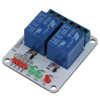 2CH 2 Channel 24V Relay Module for Arduino PIC ARM AVR MSP430