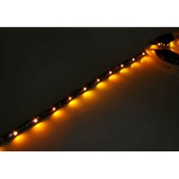 90CM 5050 27LEDs WaterProof Night Flight LED Strip w/ Adhesive Sticker for Multicopter-Yellow