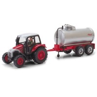 4109-06 1:43 Scale Farm Tractor with Tank Trailer