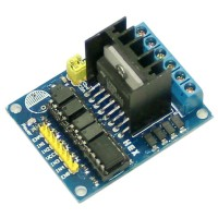 L298N DC Dual H-bridge Isolated Stepper Motor Driver Controller Module