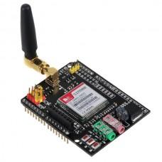 Arduino GSM GPRS Shield EFCom with 4 Frequency Antenna 9V Power Adapter
