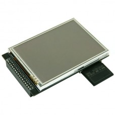 "3.2"" inch 240*320 RGB TFT LCD Module Display Touch Panel + SD Card Cage"