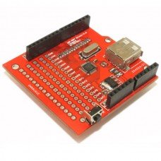 Arduino USB Host Shield Compatible with Google Android ADK Support UNO MEGA