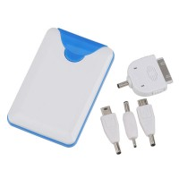 2200mah External Battery Backup Power Bank Charger for iPad iPhone PSP