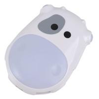 White Plastic Milk Cow Design High Speed USB 2.0 4 Port HUB