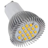 LED Spotlight Bulb G10 6.4W 220V 16LED SMD5630 Warm White 550lm