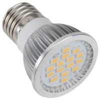 LED Spotlight Bulb E27 6.4W 220V 16LED SMD5630 500-600LM Warm White Light
