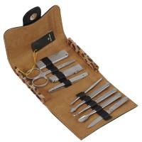 Sealking CK24-01 Pedicure Pruning Cutter Nail Clipper Stainless Manicure Set Kit Case