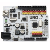Freaduino UNO Rev1.2 Arduino compatible based on Arduino UNO Rev3  R3