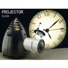 35W Cree Light Projection Clock Wall Projecter Clock Warm White Light S095