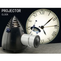 5W LED Light Projection Clock Wall Projecter Clock Figure White Light S095
