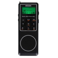 DEGEN DE1127 Digital Radio DSP FM MW SW AM Receiver 4GB MP3 Player Recorder