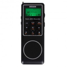 DEGEN DE1127 Digital Radio DSP FM MW SW AM Receiver 4GB MP3 Player Recorder