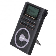 DEGEN DE1125 Stereo DSP AM/FM/SW Radio with 4GB MP3 Player Digital Recorder