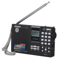 DEGEN DE1121 FM /SW/MW/LW SSB Dual Conversion Radio MP3 Player