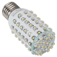 E27 White 4W 96 LEDs Corn Light Bulb Lamp 220V 380LM