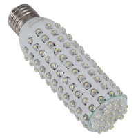Super Bright 6W E27 360 Degree 156 LEDs Corn Light Bulb Lamp 640lm-WarmWhite